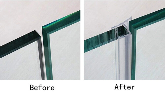 Shower Room Glass Seal B from Daoseal