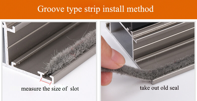 groove type strip install1