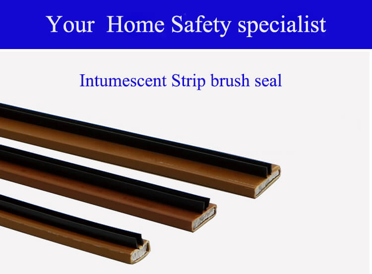 intumescents strip brush seal from daoseal