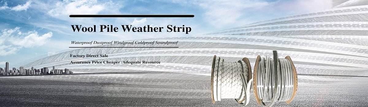 wool pile weather strip