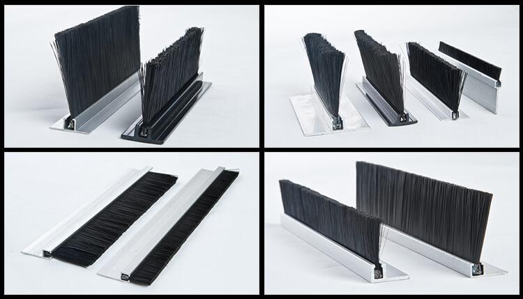 Aluminum Door Strip Brush ADBB-008a