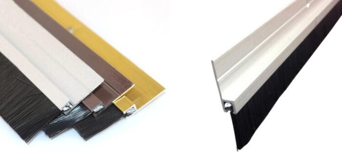 Aluminum Door Strip Brush ADBB-008c
