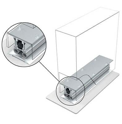 Automatic door bottom ADB-012 (a)