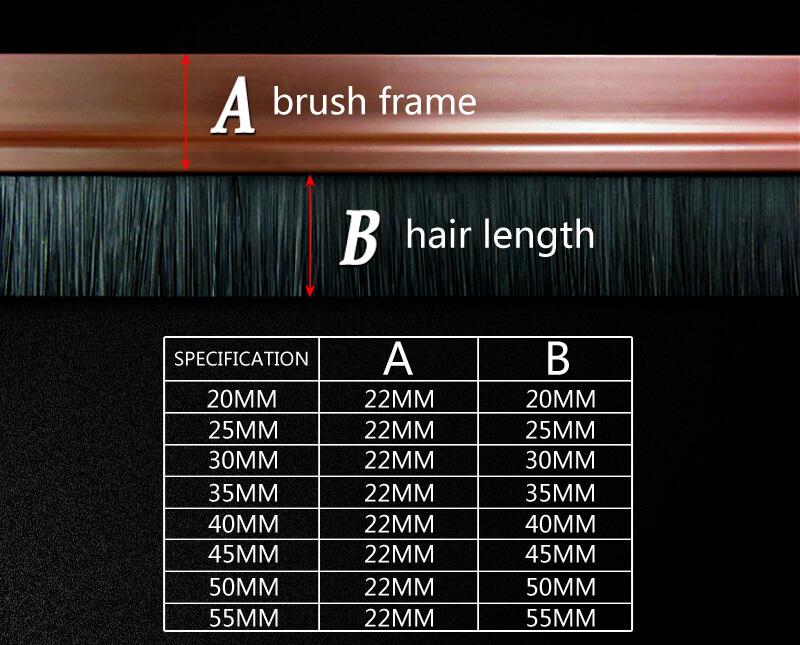 PVC Door Brush-PDBB-004