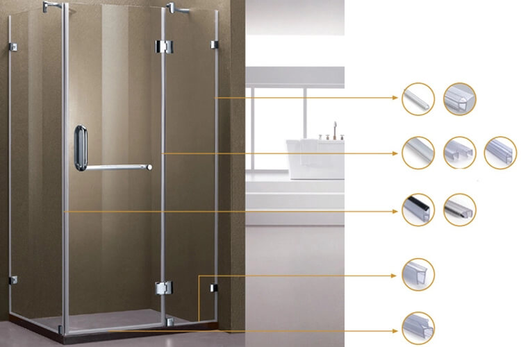 Shower Room Glass Seal D