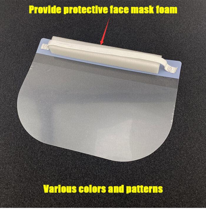 Face shield sponge PU foam strip 1