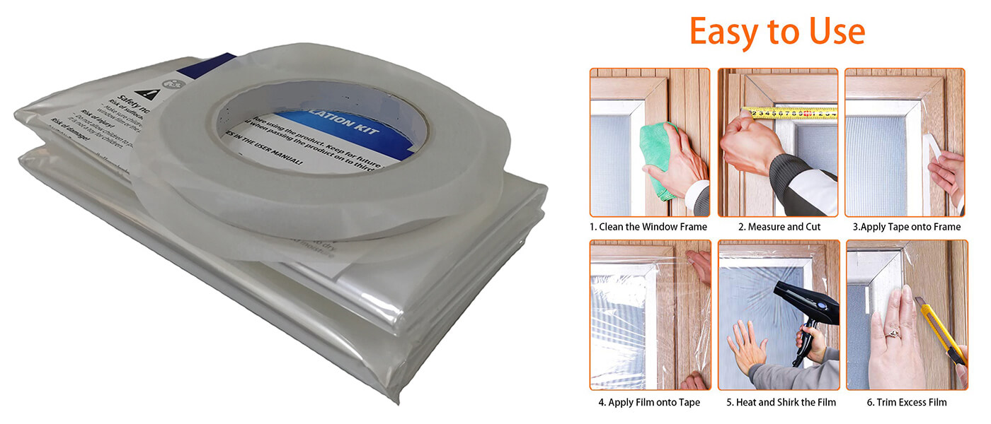 Window insulation kit Wik-001E